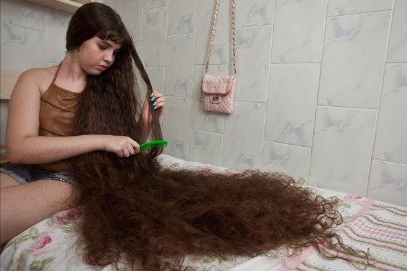 Share Good Stuffs 12 Year Old Girl S Long Hair The Real Life