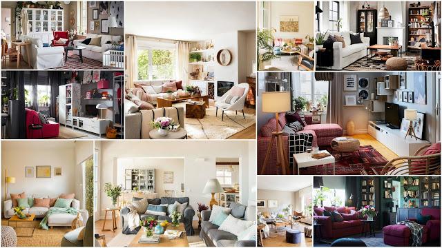 25 Σαλόνια με Καναπέδες IKEA