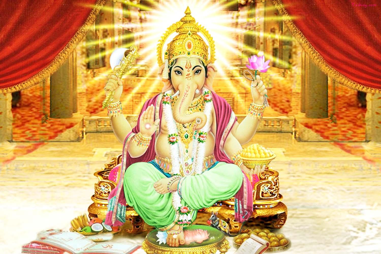 Ganesh Ji Images in calm posture!