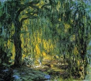 Quadro di Claude Monet, Salice piangente