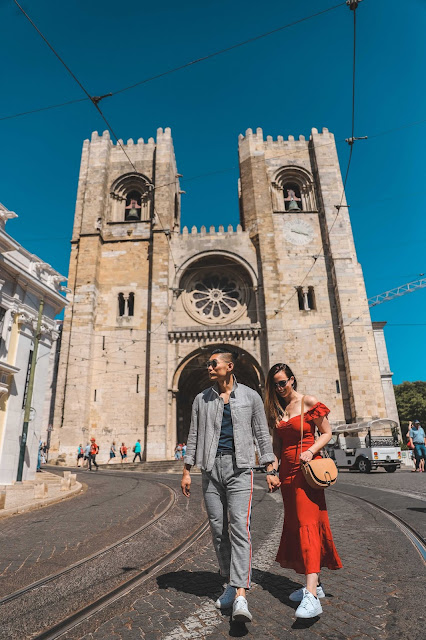 Alicia Mara and Leo Chan at the Lisbon Cathedral | Tips and Tricks