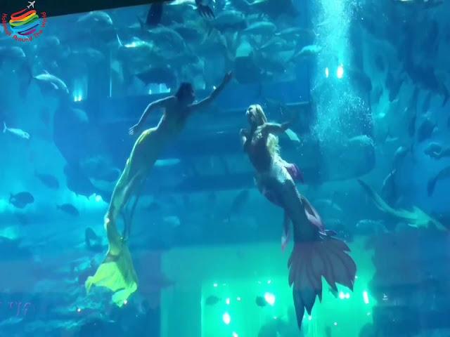 Underwater Mermaids Show - Dubai Aquarium