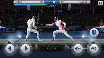 لعبة المبارزة الجميلة FIE Swordplay مهكرة للأندرويد - تحميل مباشر