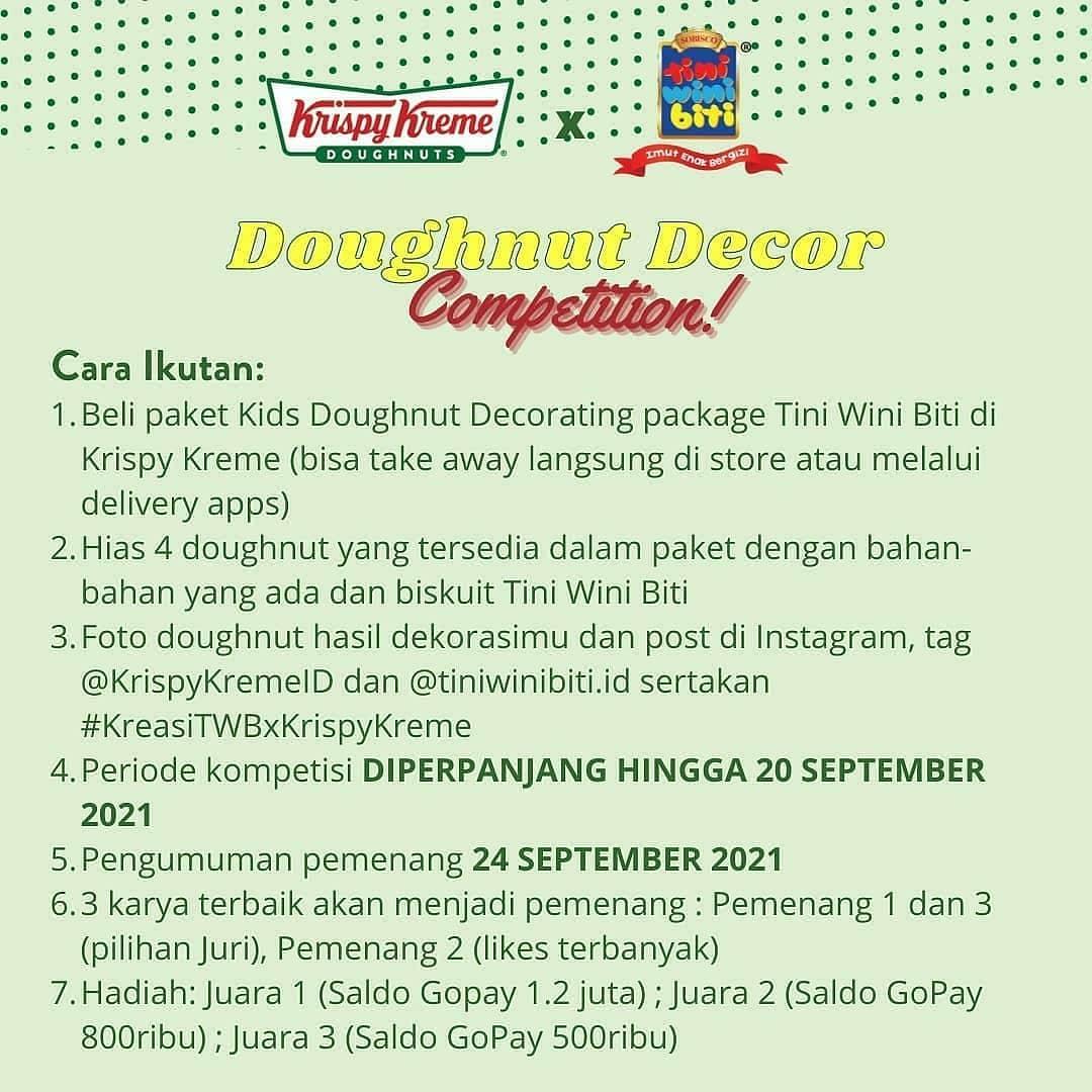 Krispy Kreme Doughnut Decor Competition 2021 2