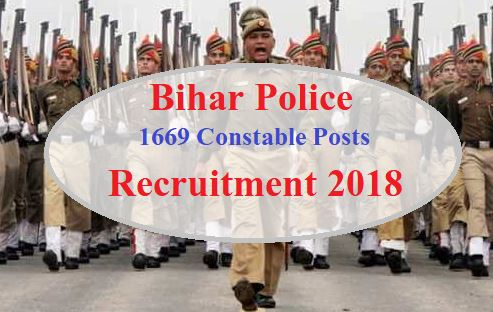 bihar police constable recruitment 2018 - www.csbc.bih.nic.in