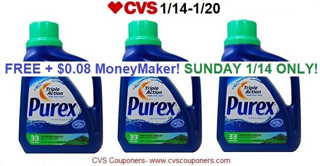 http://www.cvscouponers.com/2018/01/free-008-money-maker-for-purex-laundry.html