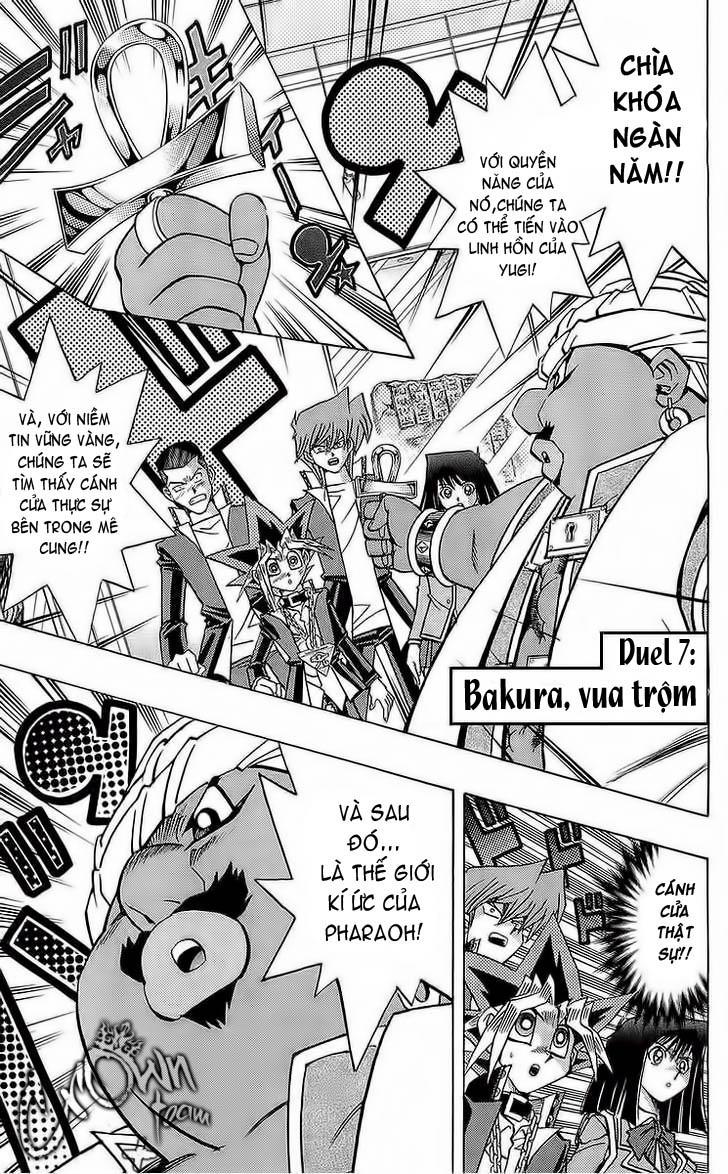 YUGI-OH! chap 285 - bakura, vua trộm trang 1