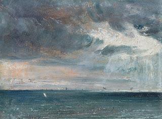 Marina al oleo de John Constable en Brighton