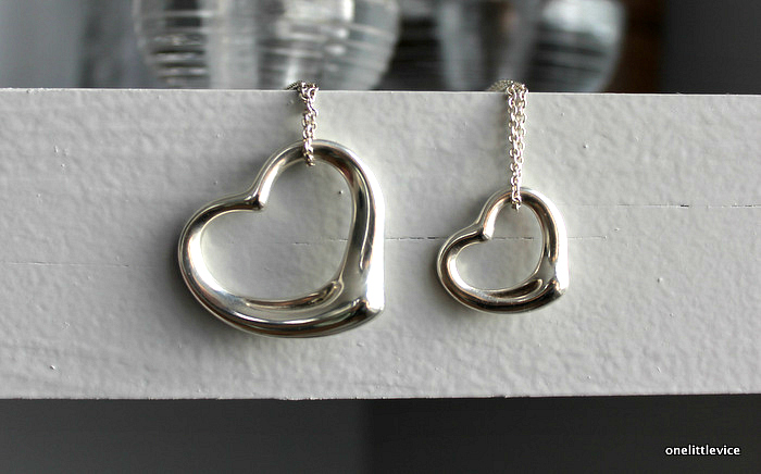 onelittlevice lifestyle blog: tiffany sterling silver necklace collection