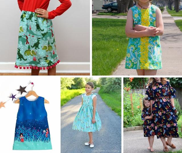 little girls dress patterns free