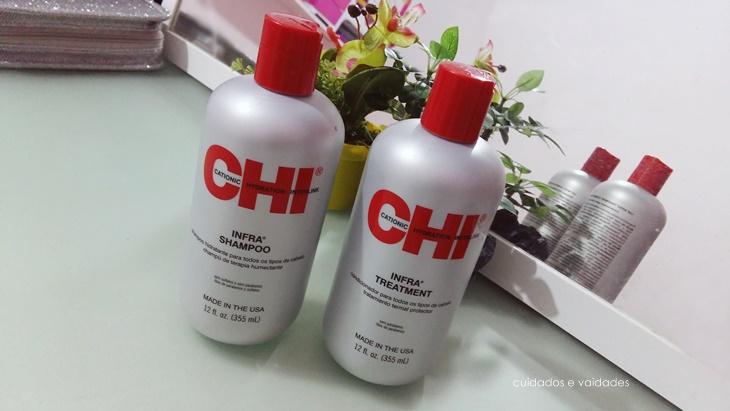 CHI Infra Shampoo e Condicionador