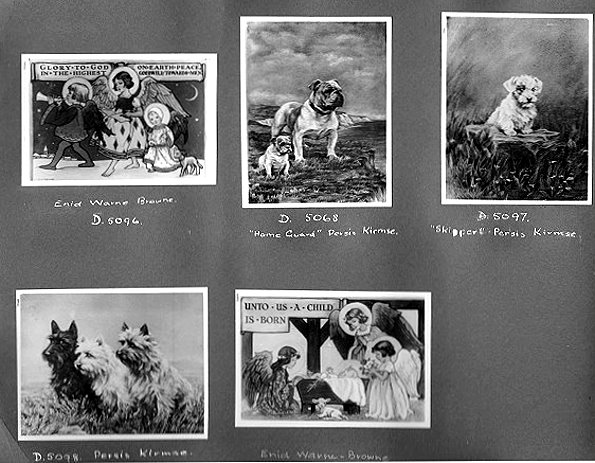 Dog Studies from an album of images