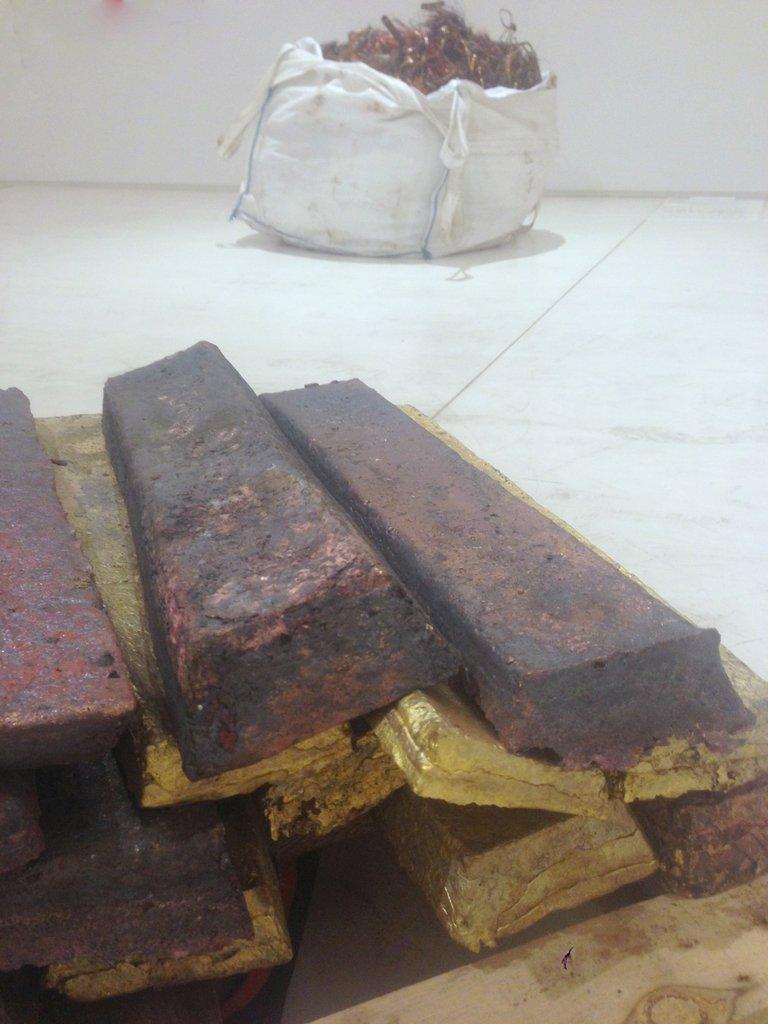 dan peterman: athens ingot project (copper)