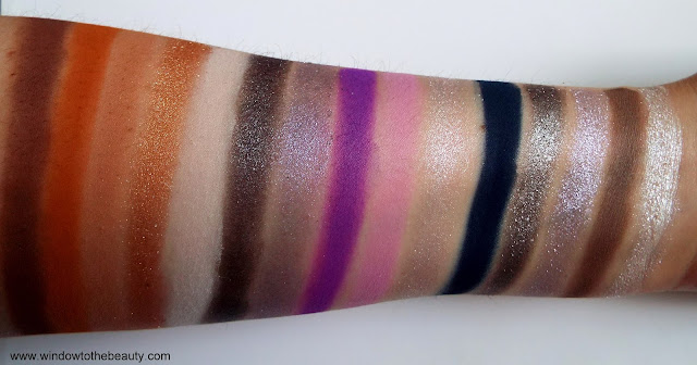 Bh Cosmetics Remix Dance 00's Eyeshadow Palette swatches