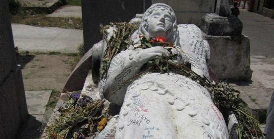 Actual tumba de Vanushka en Quetzaltenango - Guatemala