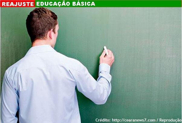 Diário Oficial da União publica reajuste de 6,81% para os professores da educação básica