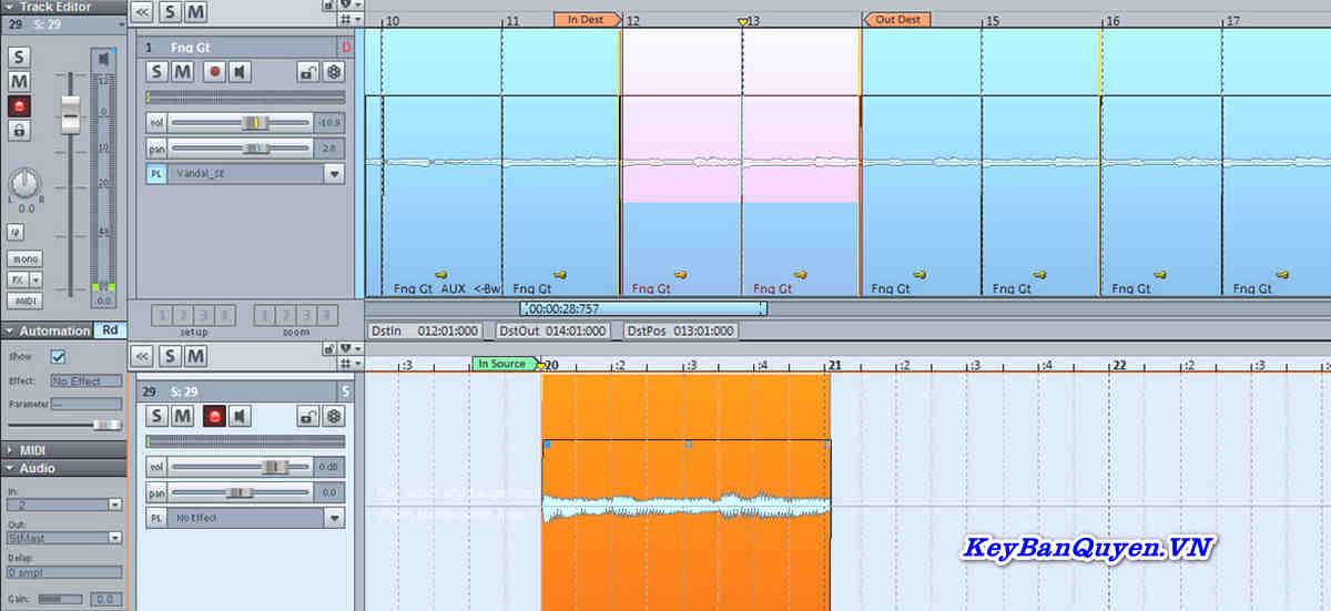 Hướng dẫn cài đặt và Download MAGIX Sequoia 15 Full Key, Phần mềm SẢN XUẤT ÂM THANH, PHÁT SÓNG, HẬU KỲ.