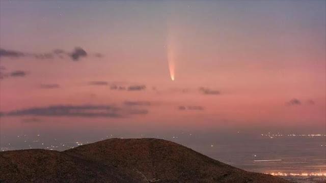 Observen este julio el cometa más brillante de los últimos 7 años