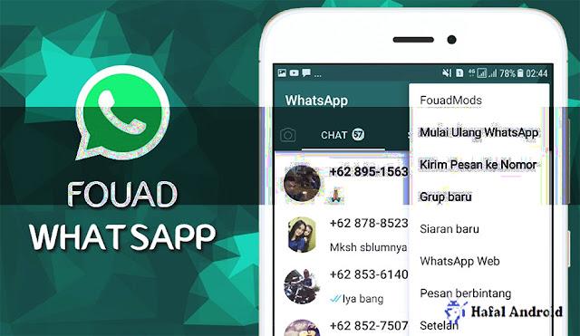 √ Fouad Mod WA v8.70 Apk Terbaru 2021 (Anti Ban)