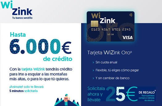 visa-wizink-oro-promocion