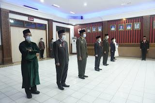 4 Pejabat Pimpinan Tinggi Pratama dan 1 Pejabat Fungsional Auditor Ahli Madya di Lingkungan Pemkab Sanggau