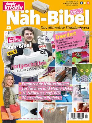 SIMPLY KREATIV NÄHBIBEL VOL. 5 05/2017