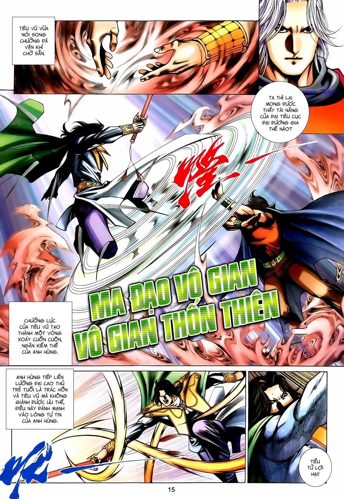 Anh Hùng Vô Lệ Chap 167 - Trang 15