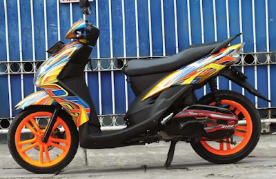Modifikasi Simple Motor Mio