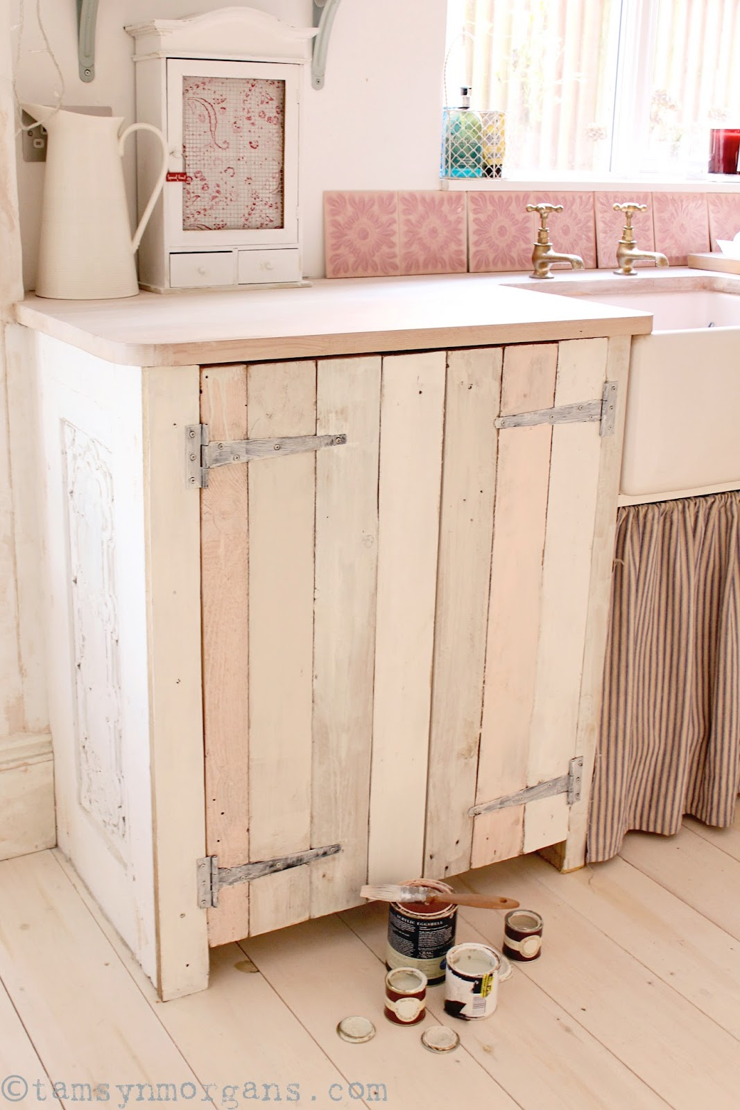 Upcycled pallet kitchen cupboard a work in progress the villa on mount pleasant - Kitchen cabinets pinterest ...