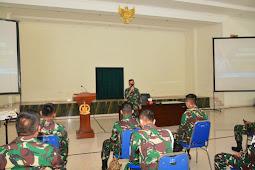 Divif 2 Kostrad Gelar Sosialisasi Agen of Change dan Penyusunan LKIP di Gedung Sandoyo Madivif 2 Kostrad