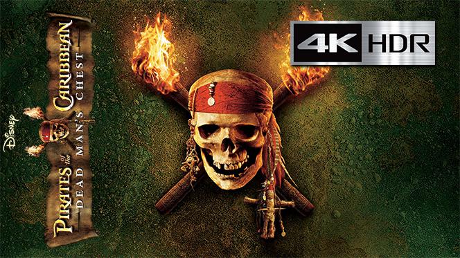 Piratas del Caribe – El cofre de la muerte (2006) Web-DL 4K UHD [HDR] Latino-Castellano