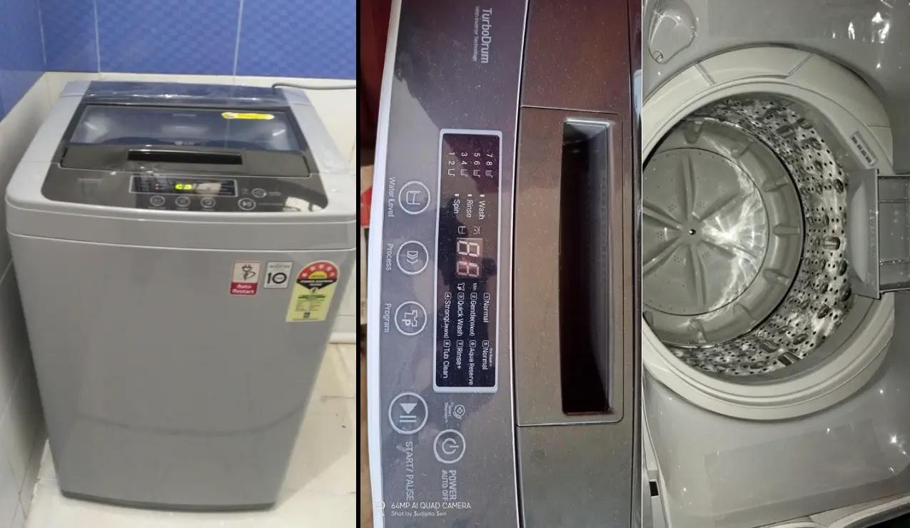 वाशिंग मशीन लोड नहीं उठा रही