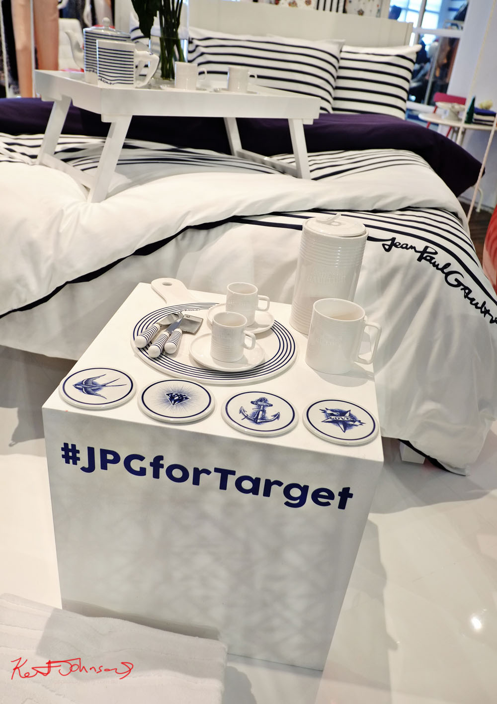 The Homeware range at the launch of #JPGforTarget, Unique Event Photography Sydney.