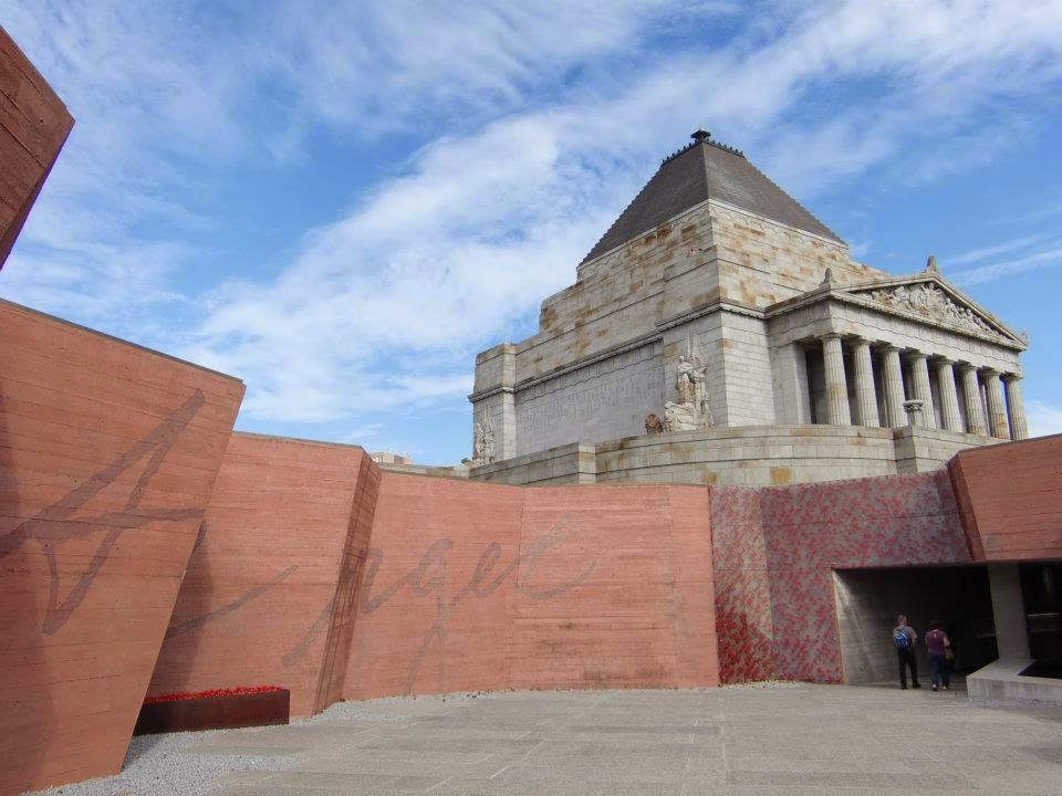 [澳洲工作假期系列] 墨爾本 戰爭紀念館 Shrine of Remembrance 2