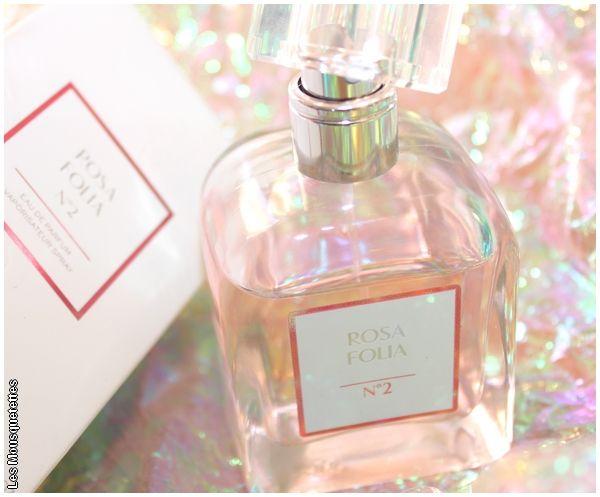 Rosa Folia N°2 l'eau de parfum délicate du Dr Pierre Ricaud - Avis Blog Beauté