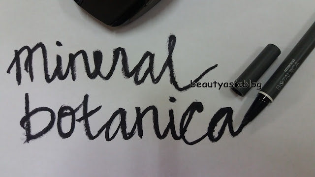 [REVIEW] Mineral Botanica Precision Eyeliner Pen #007 JET BLACK