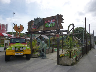 Jurassic Adventure Golf in Swanage