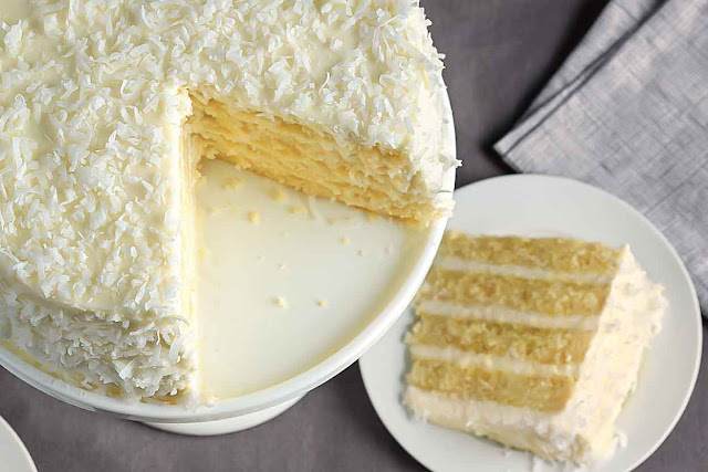 Coconut Cake Recipes How to Make It