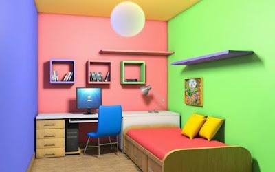 Kombinasi Warna Cat Hijau Muda (Rumah Terlihat Lebih Segar)