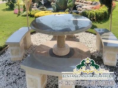Meja Batu Taman Murah | Meja Taman Murah
