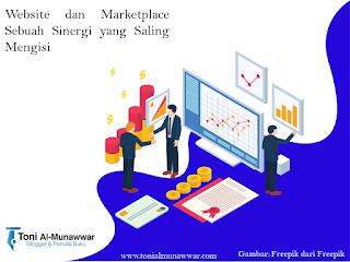 Website dan Marketplace Sebuah Sinergi yang Saling Mengisi