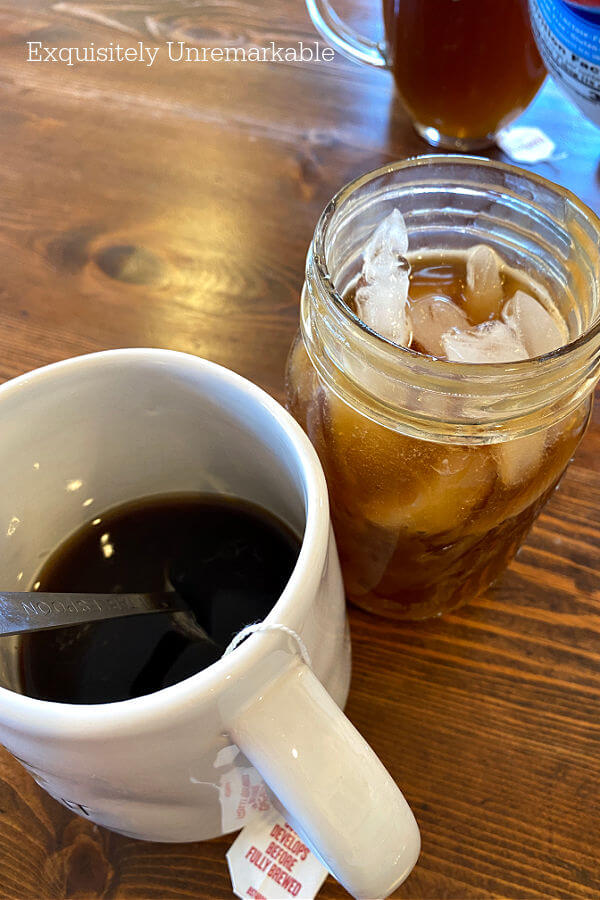 Hot and Iced Coffee