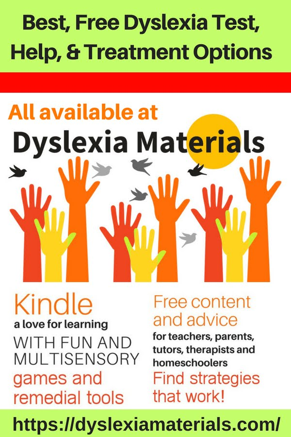 So Over Ten Years Ago To Help Parents Teachers And Therapists With This Process I Created My Site Dyslexia Materials