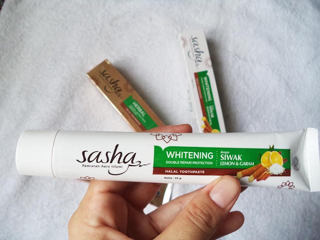 Review Pasta Gigi Sasha: Pasta Gigi Halal Pertama dengan Serpihan Siwak Asli