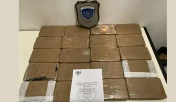 Κοκαΐνη αξίας 1 εκατ. ευρώ σε ψυγείο σε φορτηγό