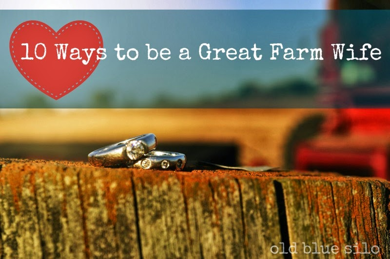 Old Blue Silo 10 Ways To Be A Great Farm Wife