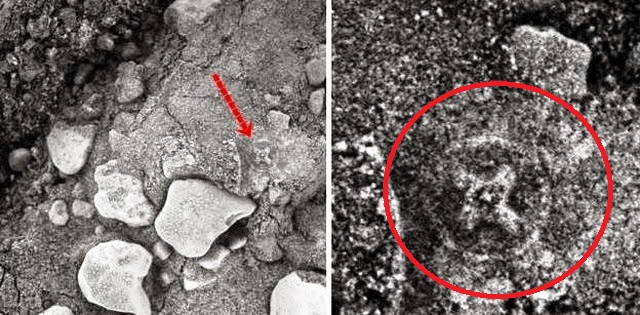 Στον Άρη βρέθηκε ο Κελτικός η αρχαίος Ελληνικός σταυρός VIDEO!