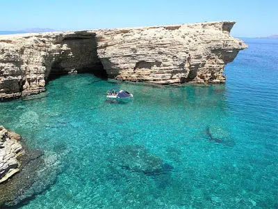 Tourist islands in Greece