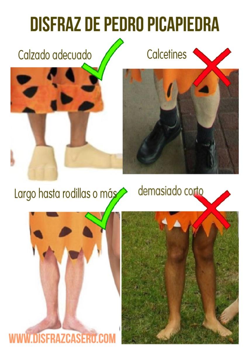 Picapiedra disfraz casero disfraz casero - Disfraz picapiedra casero ...