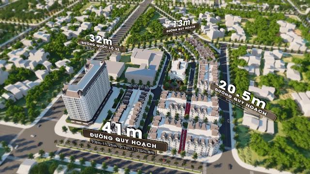 Dự án: Helianthus Center Red River Đất nền - Biệt thự - Shophouse Phong cách Quý Tộc - Tân Cổ Điển - Cổ Dương, Đông Anh, Hà Nội